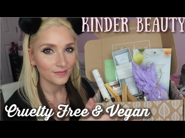 Kinder Beauty Box Review   Vegan & Cruelty Free Beauty