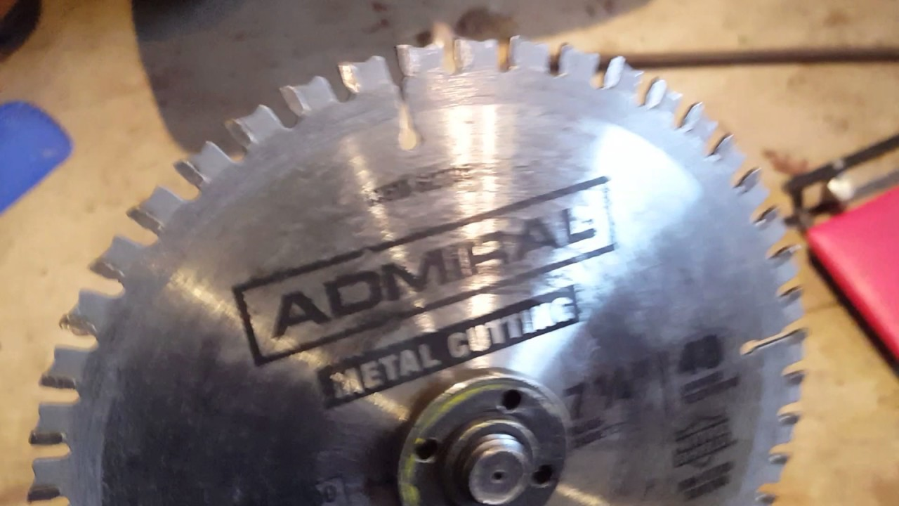 Harbor freight metal cutting carbide blade