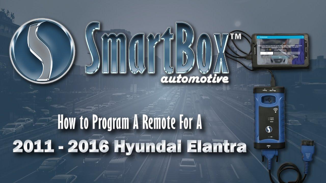 How To Program A Remote To A 2011 2016 Hyundai Elantra Youtube