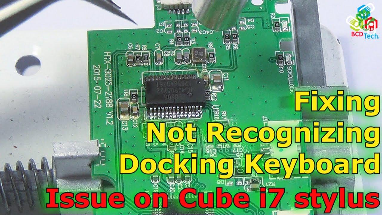 Cube i7 Stylus NanoHub + Bluetooth mod (038) - YouTube