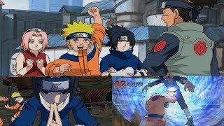 Naruto Gekitou Ninja Taisen! 4 Walkthrough Part 1 - Team 7 vs Iruka 1080p 60 FPS