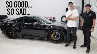 Modifying a Broken 992 Turbo S...