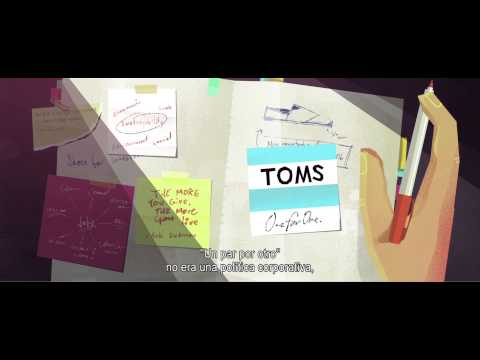 TOMS shoes - One for One. Subtitulos en Español