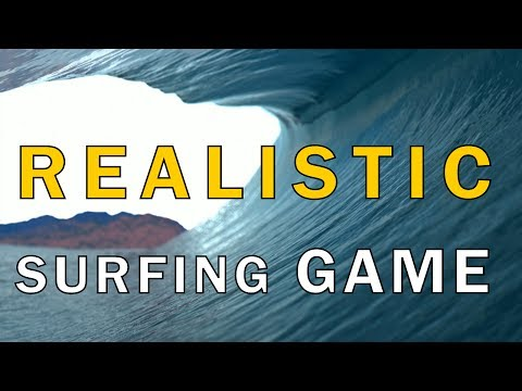 Virtual Surfing: the game that promises realistic waves