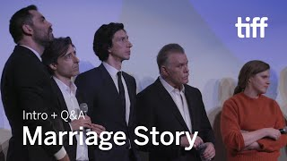MARRIAGE STORY Cast and Crew Q&A | TIFF 2019