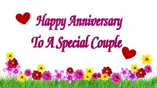 Download Happy Anniversary To A Special Couple