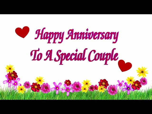 Happy Anniversary To A Special Couple Free To a Couple eCards | 123  Greetings