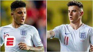 Jadon Sancho & Mason Mount feature in Paul Mariner's best England XI | Euro 2020 Qualifying