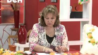 Cojín con Flores - Irma Ramos