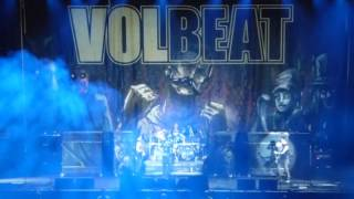 Black Rose / Seal The Deal ' Live ' Volbeat Motorpoint Arena 26 November 2016