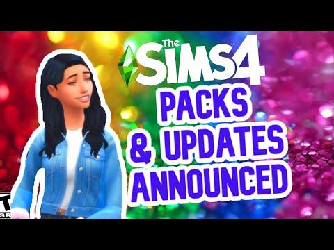SIMS 4 NEW PACKS ANNOUNCED