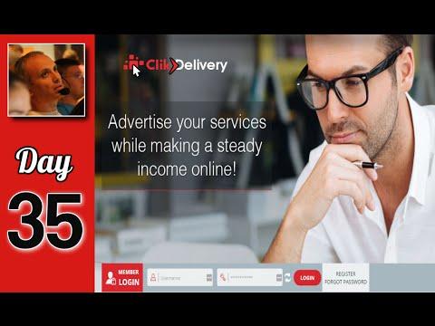 איך להרוויח כסף עם clikdelivery היום ה 35