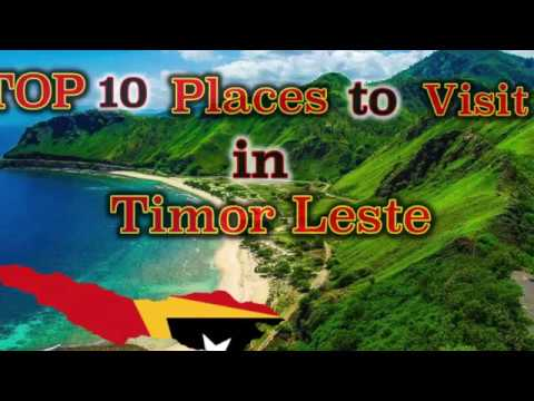 TOP 10 Places to visit in Timor Leste