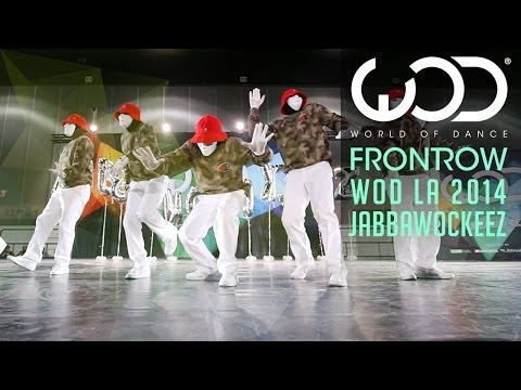 Jabbawockeez | FRONTROW | World of Dance #WODLA '14