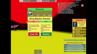 COMMENT À DEFEAT KING BEETLE - GET THE KING BEETLE AMULET ( Simulateur d'essaim d'abeilles Roblox
