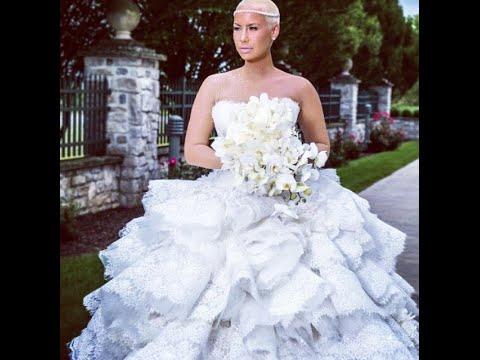 Real amber rose bridal dresses 2015 amber rose life style youtube
