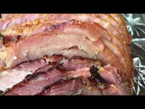 Honey Mustard Ham Recipe - How To Make Honey Dijon Roasted Ham