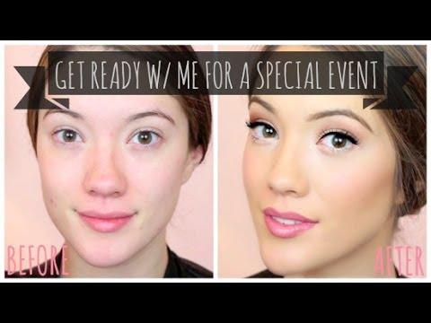 Get Ready with Me! Special Event Skincare, Makeup & Hair + How I Contour | Blair Fowler
