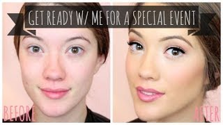Get Ready with Me! Special Event Skincare, Makeup & Hair + How I Contour | Blair Fowler Thumbnail