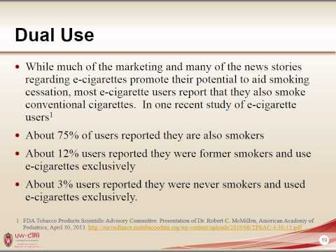 Webinar- The TRUTH about E-cigarettes: What Healthcare Providers and Patients Need to Know