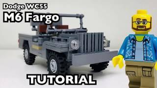WW2 Lego Florida Shoooter Dodge WC55 M6 Fargo Tutorial/Instrcutions