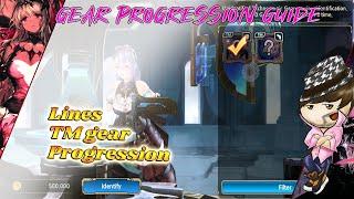 [King's Raid] Gear progression guide
