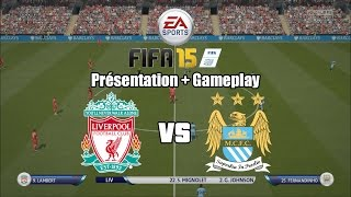 FIFA 15 Demo - Menus & Gameplay - Liverpool vs. Manchester City - PC Ultra 1080p