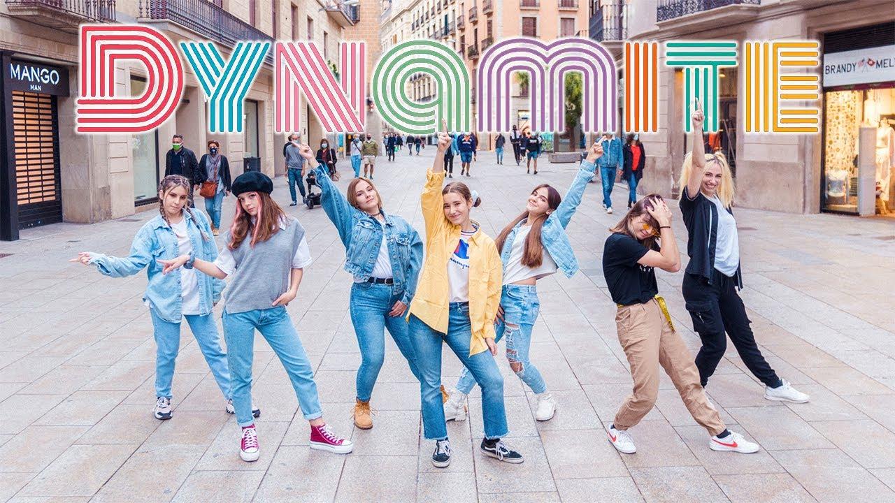 [KPOP IN PUBLIC] BTS (방탄소년단) _ DYNAMITE   Dance cover by EST CREW