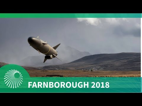 Farnborough 2018: SAAB launch their latest RBS15 Gungnir missile