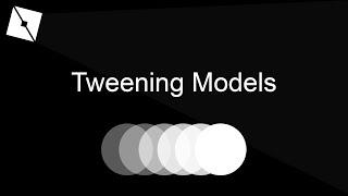 How To Tween A Model   Roblox Studio Tutorial