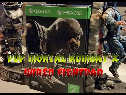 PDP Mortal Kombat X Fightpad MKX Unboxing And Review!