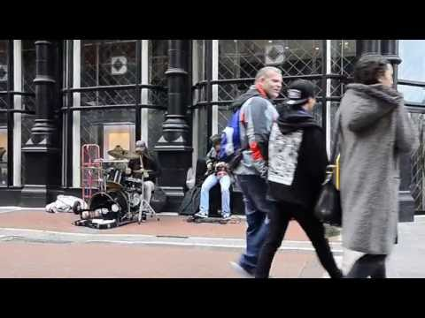 The best Street  Rock Band Performance in Dublin