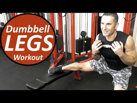 LEGS WORKOUT - In Recognition of International Women's Day - Legs Dumbbell Workout At Home