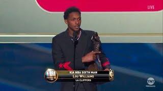 Lou Williams | Kia NBA Sixth Man Award Winner | 2018 NBA Awards