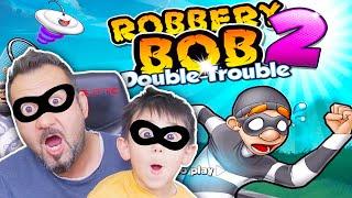 DÜNYANIN EN SESSİZ VE ÇILGIN HIRSIZI! | ROBBERY BOB 2: DOUBLE TROUBLE OYNUYORUZ