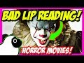 """Puberty!"" BAD LIP READING Horror Movies !!! (Funny Lip Dub 2018)"