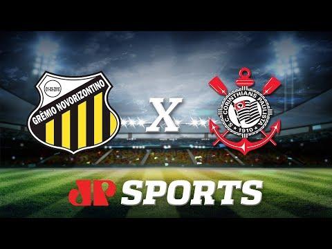 Novorizontino 1 x 1 Corinthians - 07/03/20 - Campeonato Paulista - Futebol JP