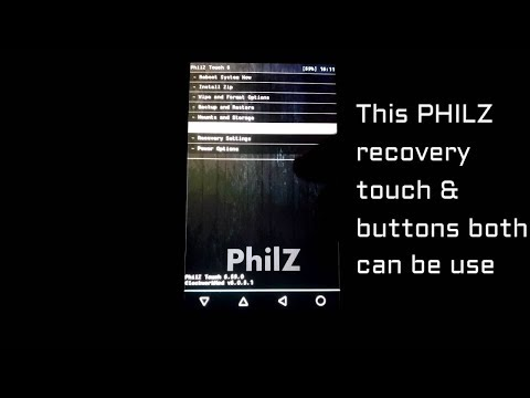 How To Flash Custom Philz Recovery in Micromax Unite 3 Q372 With PC