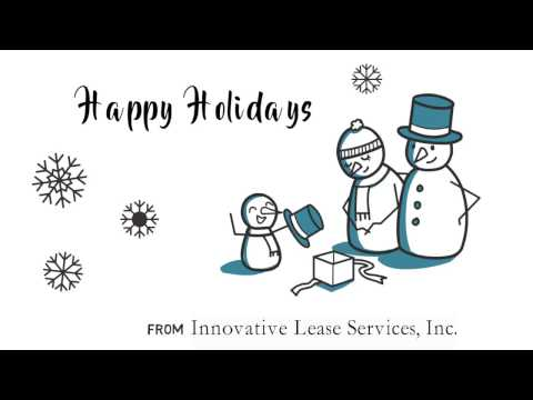 Happy Holidays from Innovative Lease Services