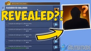FORTNITE SECRET BLOCKBUSTER SKIN REVEALED!? | BLOCKBUSTER REWARD UNLOCKED!