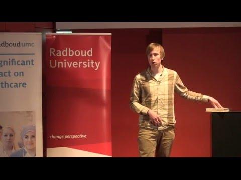 Matthew Zunder - Winner of Radboud Talks 2016 Audience Award