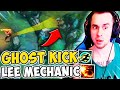 """NEW """"GHOST KICK"""" LEE SIN COMBO IS THE COOLEST MECHANIC! (DIFFICULT) - League of Legends"""