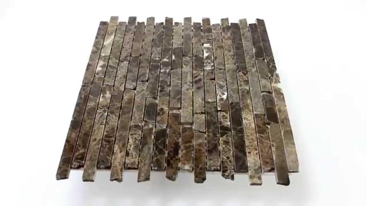 Liebenswert Klepfer Naturstein Ideen Von Mosaikfliesen Marmor Impala Braun Poliert