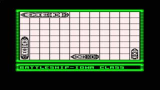 Battleship Gameplay Nes (Nintendo)