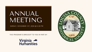Annual Meeting &amp Lecture