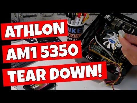 AMD AM1 Athlon 5350 Media PC 2019 Tear Down & Rebuild