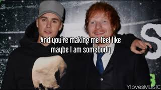 Ed Sheeran ft. Justin Bieber - I Don't Care (Lyrics)