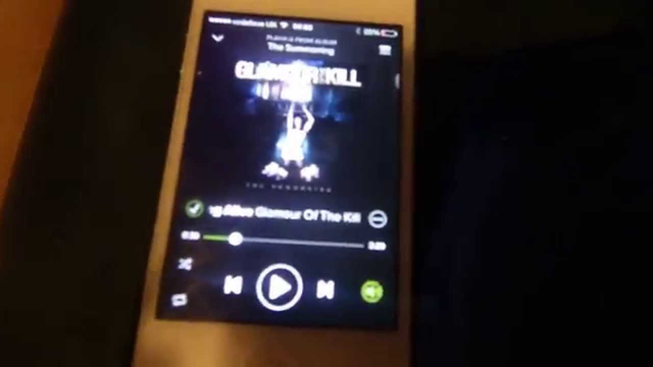 Got Spotify, an iPhone and a PS4? JUST LOOK!