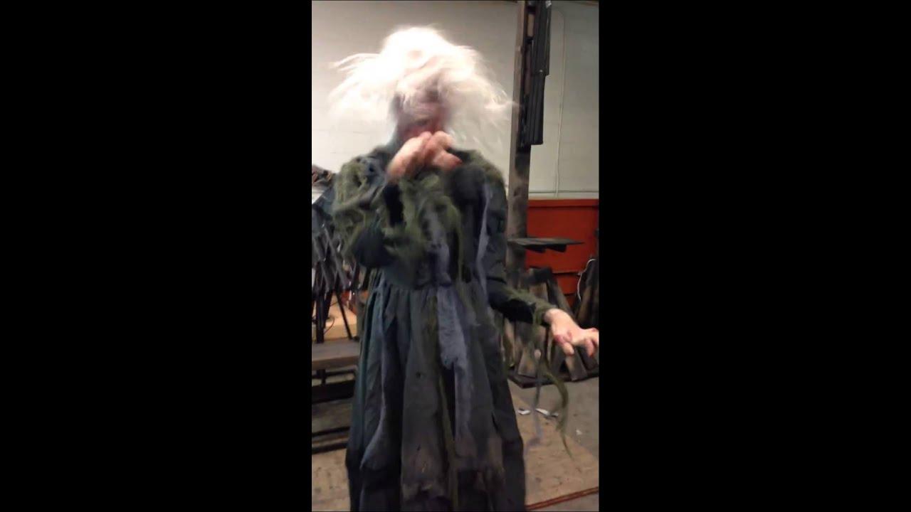 chair screamer most terrifying halloween prop ever youtube - Halloween Props 2016