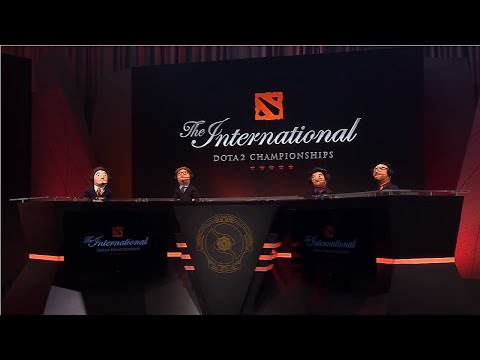 Fun moments in The International 2016. Pre-, Post-Games.